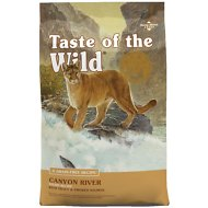 Taste of the Wild Canyon River Grain-Free Dry Cat Food, 14-lb bag