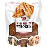 VERA Chicken Mini Fillets Dog Treats, 18-oz bag