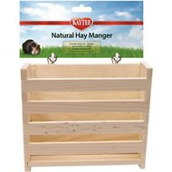 Kaytee Natural Small Animal Hay Manger, Large
