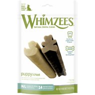 WHIMZEES Puppy Dental Dog Treats, Medium/Large, 14 count