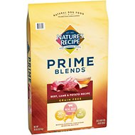 Nature's Recipe Prime Blends Beef, Lamb, and Potato Recipe Grain-Free Dry Dog Food