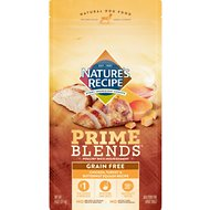 Nature's Recipe Prime Blends Chicken, Turkey, and Butternut Squash Recipe Grain-Free Dry Dog Food, 4-lb bag