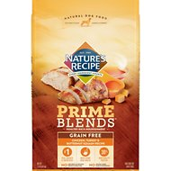 Nature's Recipe Prime Blends Chicken, Turkey, and Butternut Squash Recipe Grain-Free Dry Dog Food, 12-lb bag