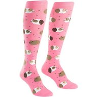 "Sock It to Me ""Guinea Piggin Around"" Women's Knee High Socks, One Size"
