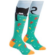 "Sock It to Me ""Gone Fishin"" Women's Knee High Socks, One Size"