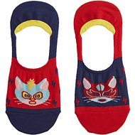 Sock It to Me Gato Libre No Show Unisex Socks, Small