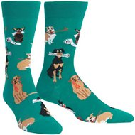 "Sock It to Me ""Chew On This"" Men's Crew Socks, One Size"