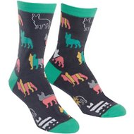 Sock It to Me Frenchies Women's Crew Socks, One Size