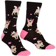 Sock It to Me Pugasus Women's Crew Socks, One Size
