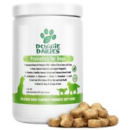 Doggie Dailies Advanced Probiotics & Prebiotics Dog Supplement, 225 count