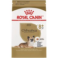 Royal Canin Breed Health Nutrition Chihuahua 8+ Adult Dry Dog Food, 2.5-lb bag