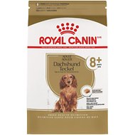 Royal Canin Breed Health Nutrition Dachshund Teckel 8+ Adult Dry Dog Food, 3-lb bag