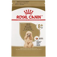 Royal Canin Breed Health Nutrition Poodle Caniche 8+ Adult Dry Dog Food, 3-lb bag