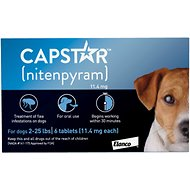 Capstar Flea Tablets for Dogs, 2-25 lbs, 6 count