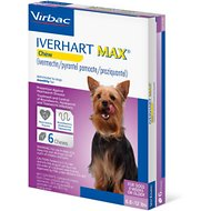 Iverhart Max Soft Chew 6-12 lbs, 6 treatments