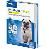 Iverhart Max Soft Chew 12.1-25 lbs, 6 treatment