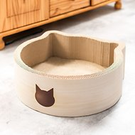 Necoichi Cat Head Scratcher Bed, Regular