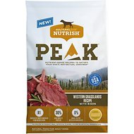 Rachael Ray Nutrish PEAK Natural Grain-Free Western Grasslands Recipe with Bison Dry Dog Food, 8-lb bag
