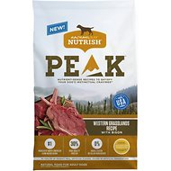 Rachael Ray Nutrish PEAK Natural Grain-Free Western Grasslands Recipe with Bison Dry Dog Food, 16-lb bag