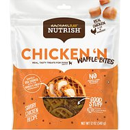 Rachael Ray Nutrish Chicken 'N Waffle Bites Dog Treats, 12-oz bag
