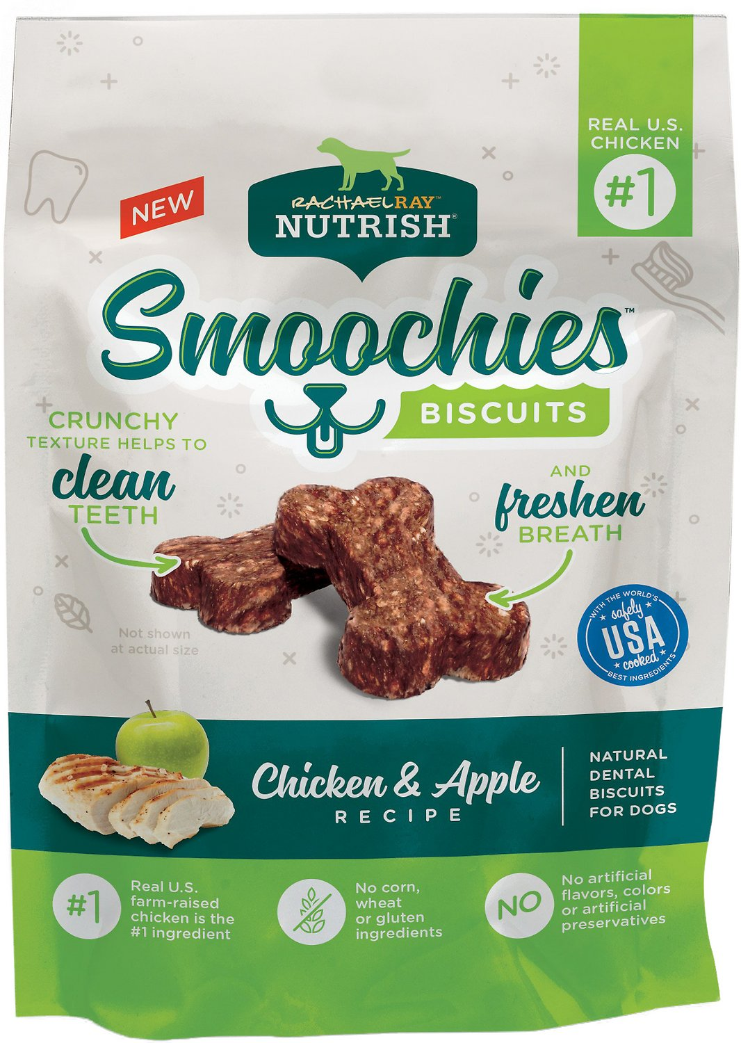 Rachael Ray Nutrish Smoochies Biscuits Natural Chicken