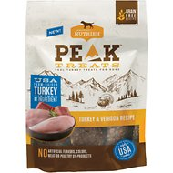 Rachael Ray Nutrish PEAK Grain-Free Turkey and Venison Recipe Dog Treats, 12-oz bag