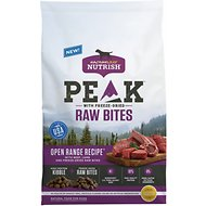 Rachael Ray Nutrish PEAK Natural Grain-Free Open Range Recipe with Beef & Lamb with Freeze Dried Raw Bites Dry Dog Food, 23-lb bag