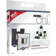 Fluval Chi II Filter Pad & Filter Foam Pad, Value Pack, Value Pack