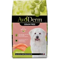 AvoDerm Natural Grain-Free Salmon Meal & Potato Formula All Life Stages Dry Dog Food, 24-lb bag