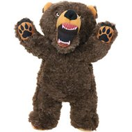 Mighty Angry Animals Bear Dog Toy, Large