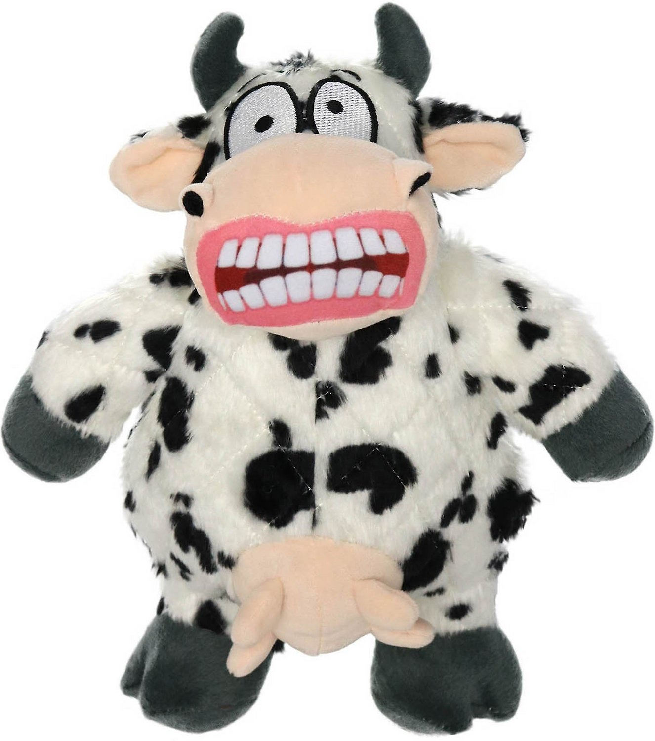 Mighty Angry Animals Cow Dog Toy Large