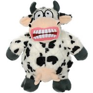 Mighty Angry Animals Cow Dog Toy, Large