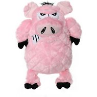 Mighty Angry Animals Pig Dog Toy, Large