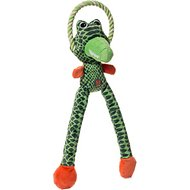 Charming Pets Thunda Tugga Leggy Dog Toy, Gator