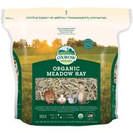 Oxbow Organic Meadow Hay Small Animal Food, 40-oz bag