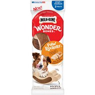 Milk-Bone Wonder Bones Paw Rockers Small/Medium Chicken Flavored Dog Treats, 2 count