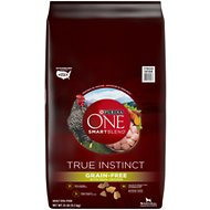 Purina ONE SmartBlend True Instinct Real Chicken Grain-Free Formula Dry Dog Food, 25-lb bag
