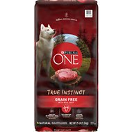 Purina ONE SmartBlend True Instinct Grain-Free Real Beef Dry Dog Food