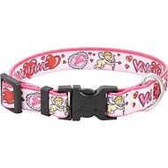 Yellow Dog Design Be Mine Valentine's Dog Collar, Small