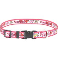 Yellow Dog Design Be Mine Valentine's Dog Collar, Large