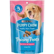 Puppy Chow Healthy Start Salmon Flavor Training Dog Treats, 7-oz pouch