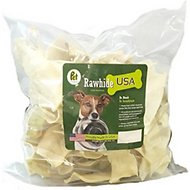 Pet Magasin Natural Rawhide Chips Dog Treats, 1-lb
