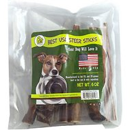 "Pet Magasin Steer Stick 6"" Dog Treat, 6-oz"