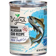 Purina Beyond Grain-Free Alaskan Cod Recipe Canned Dog Food, 13-oz, case of 12