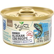 Purina Beyond Grain-Free Alaskan Cod Recipe Canned Cat Food, 3-oz, case of 12
