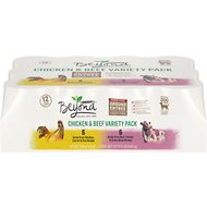 Purina Beyond Grain-Free Chicken & Beef Variety Pack Canned Dog Food, 13-oz, case of 12