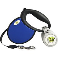 Pet Magasin Retractable Dog Leash, Dark Blue