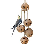 Pet Magasin Natural Coconut Bird Toys