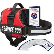 Industrial Puppy Service Dog Harness, Red, XX-Small