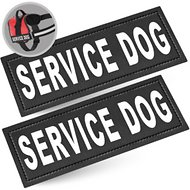Industrial Puppy Service Dog Patches, 2 count
